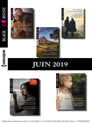cover image of 11 romans Black Rose (n°537 à 540--Juin 2019)