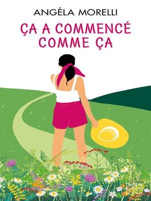 cover image of Ça a commencé comme ça