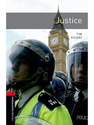 cover image of Justice  (Oxford Bookworms Series Stage 3)