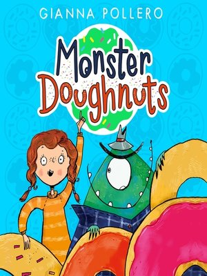 cover image of Monster Doughnuts