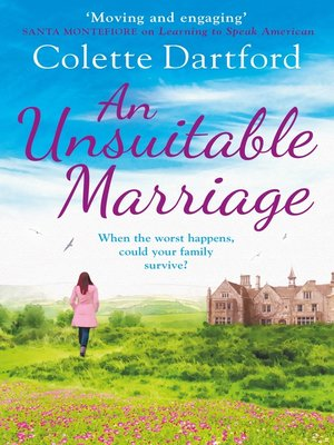 cover image of An Unsuitable Marriage