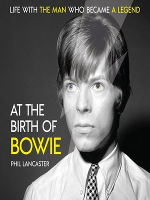 cover image of At the Birth of Bowie