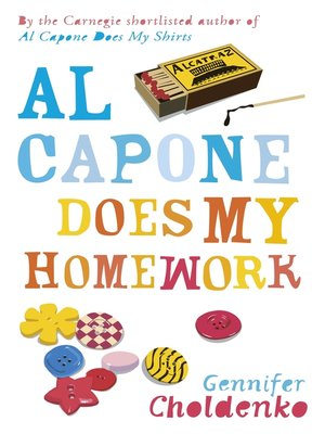 cover image of Al Capone Does My Homework