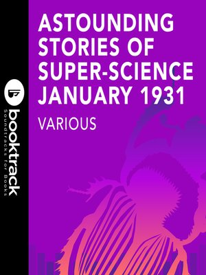 cover image of Astounding Stories of Super-Science, January 1931