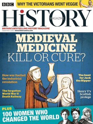 cover image of BBC History Magazine