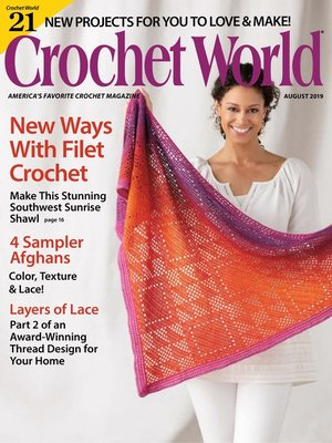 cover image of Crochet World