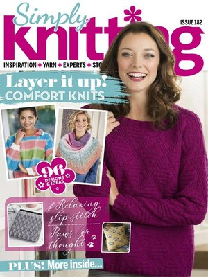 cover image of Simply Knitting