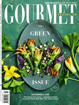 cover image of Gourmet Traveller