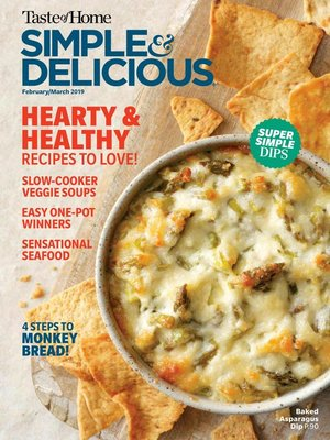 cover image of Simple & Delicious