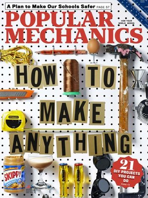 cover image of Popular Mechanics