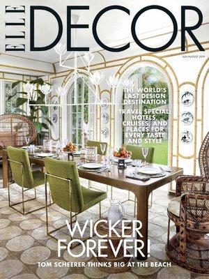 cover image of Elle Decor