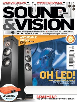 cover image of Sound & Vision