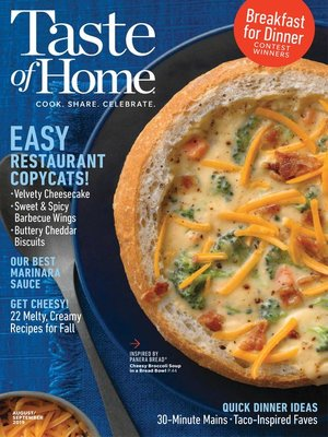 cover image of Taste of Home