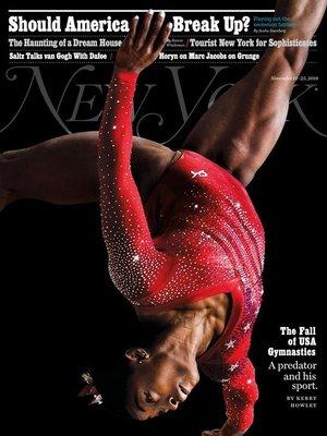 cover image of New York Magazine