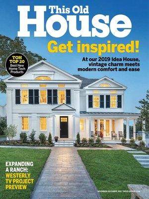 cover image of This Old House Magazine