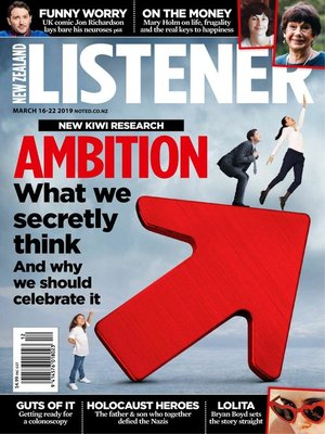 cover image of New Zealand Listener