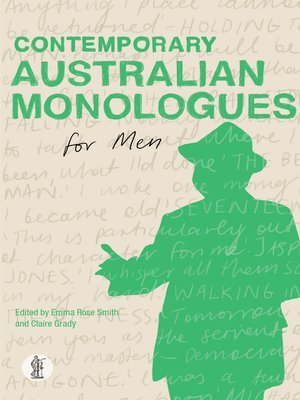 cover image of Contemporary Australian Monologues for Men