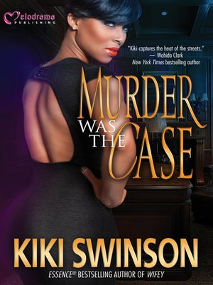 cover image of Murder was the Case
