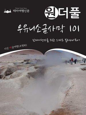 cover image of 원더풀 우유니소금사막 101 : 남미여행자를 위한 스마트 볼리비아투어