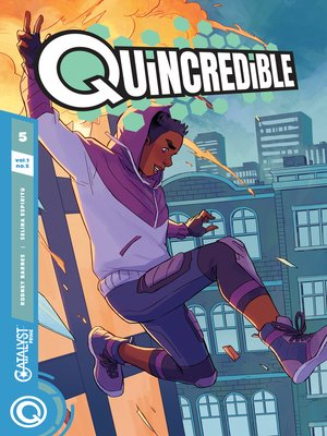 cover image of Quincredible (2018), Issue 5