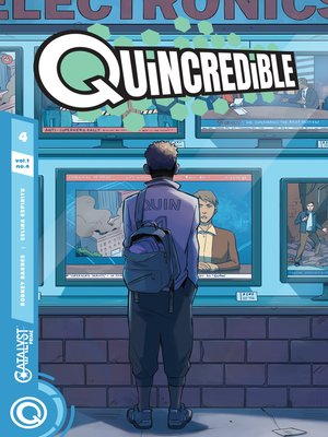 cover image of Quincredible (2018), Issue 4