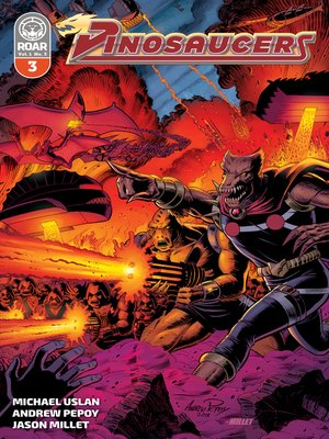 cover image of Dinosaucers (2018), Issue 3