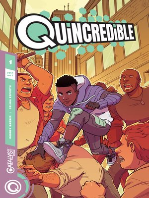 cover image of Quincredible (2018), Issue 1
