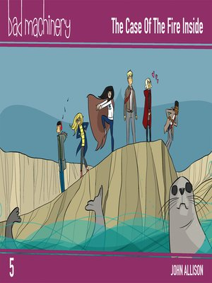 cover image of Bad Machinery (2013), Volume 5