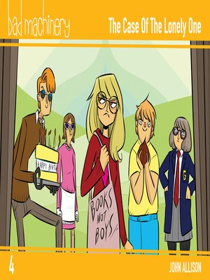 cover image of Bad Machinery (2013), Volume 4