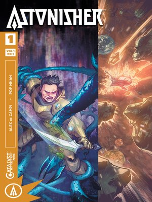 cover image of Astonisher (2017), Issue 1