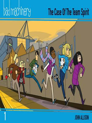 cover image of Bad Machinery (2013), Volume 1