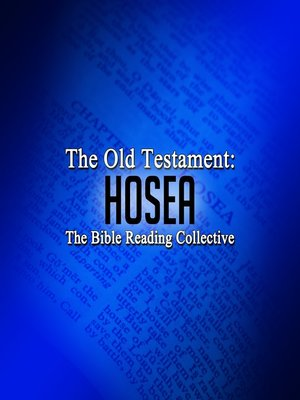 cover image of The Old Testament: Hosea