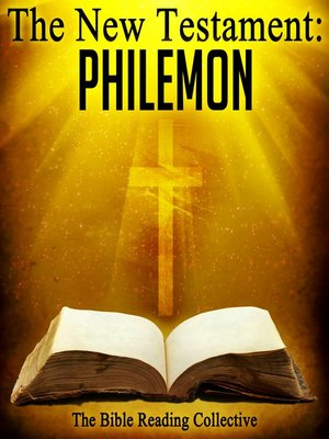 cover image of The New Testament: Philemon