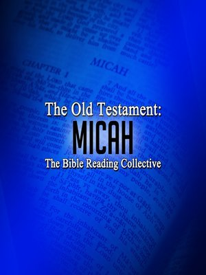 cover image of The Old Testament: Micah