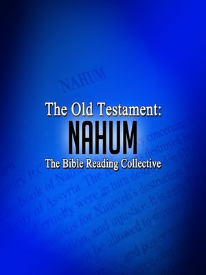 cover image of The Old Testament: Nahum