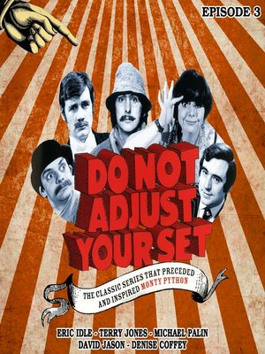 cover image of Do Not Adjust Your Set: Volume 3