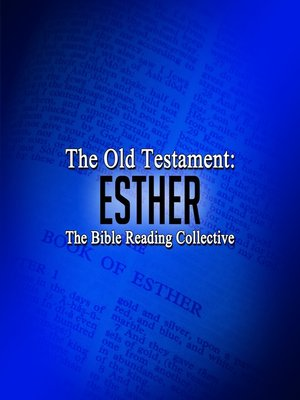 cover image of The Old Testament: Esther