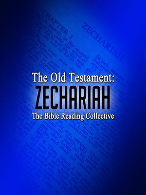cover image of The Old Testament: Zechariah