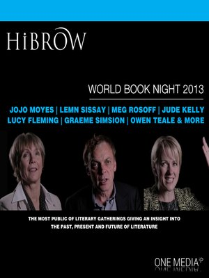 cover image of HiBrow: World Book Night 2013