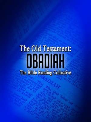 cover image of The Old Testament: Obadiah