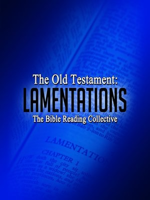 cover image of The Old Testament: Lamentations