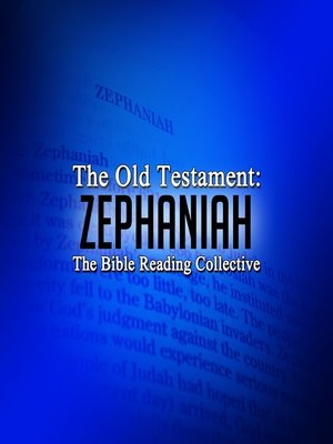cover image of The Old Testament: Zephaniah