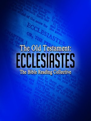 cover image of The Old Testament: Ecclesiastes