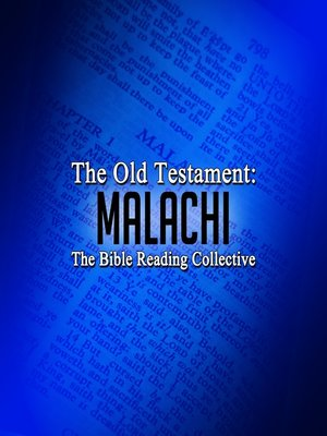 cover image of The Old Testament: Malachi