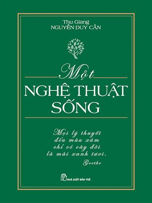 cover image of Một nghệ thuật sống