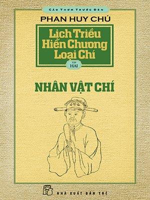 cover image of Lịch triều hiến chương loại chí. T.2