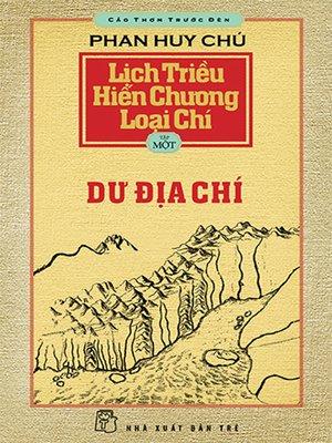 cover image of Lịch triều hiến chương loại chí. T.1