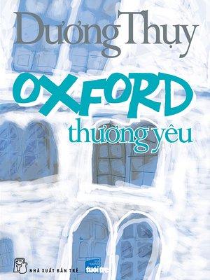 cover image of Oxford thương yêu