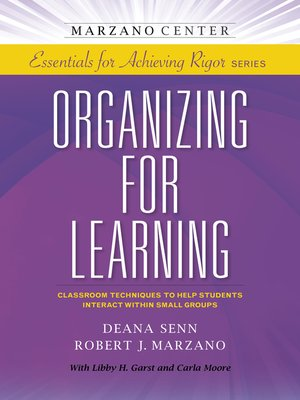 cover image of Organizing for Learning