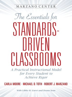 cover image of The Essentials for Standards-Driven Classrooms